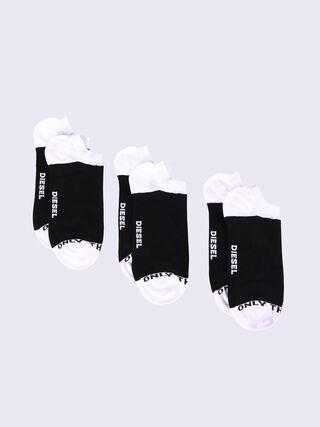 SKM-GOST-THREEPACK, Black/White