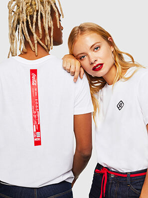 CC-T-DIEGO-COLA, White - T-Shirts