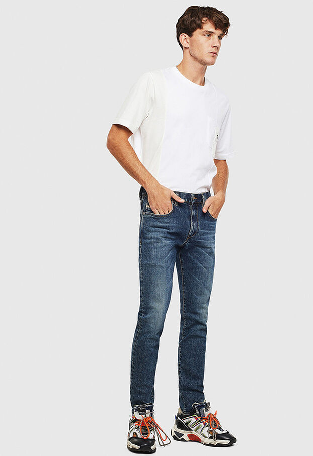 D-Strukt 009AR, Medium blue - Jeans