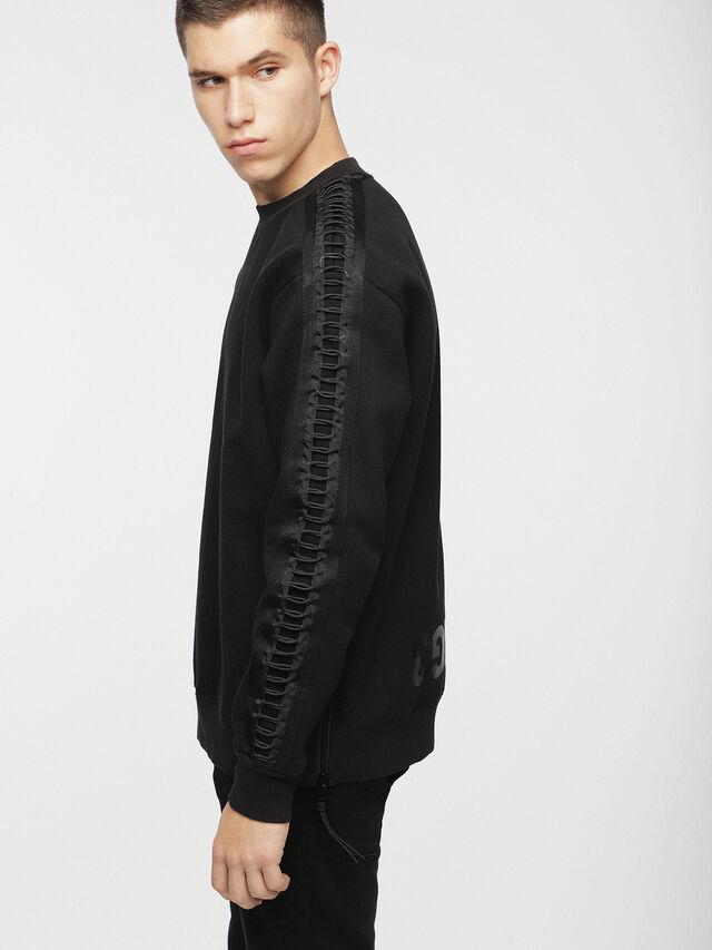 Diesel - S-MARTY, Black - Sweaters - Image 3