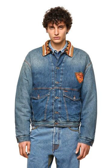 DieselXDiesel jacket in padded denim
