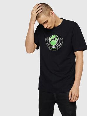 T-JUST-B1, Black - T-Shirts