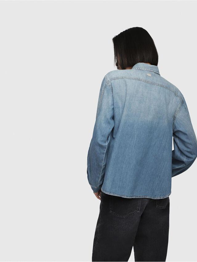Diesel - DE-BEAVER, Blue Jeans - Denim Shirts - Image 2