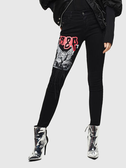 Diesel - Slandy 069KX, Black/Dark grey - Jeans - Image 1