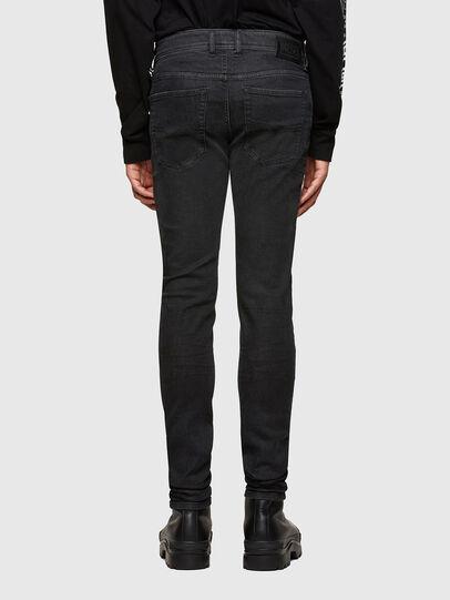 Diesel - Sleenker 009LY, Black/Dark grey - Jeans - Image 2