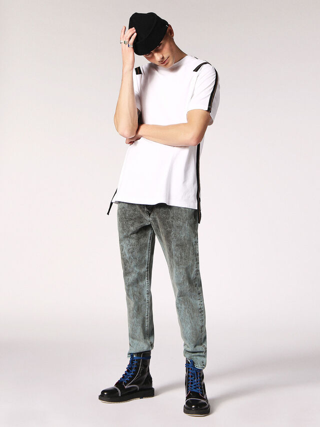 Diesel - T-JUST-TAPE, White - T-Shirts - Image 6