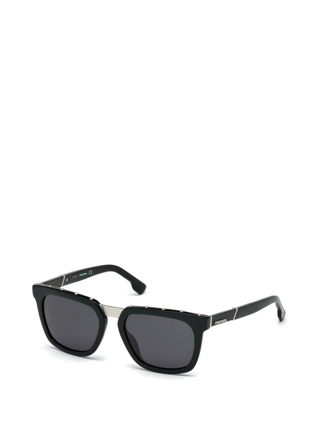 Diesel - DL0212, Black - Sunglasses - Image 4