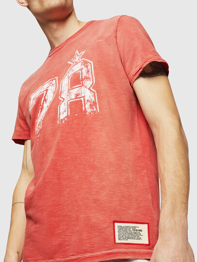 Diesel - T-DIEGO-CUT-AB, Fire Red - T-Shirts - Image 3
