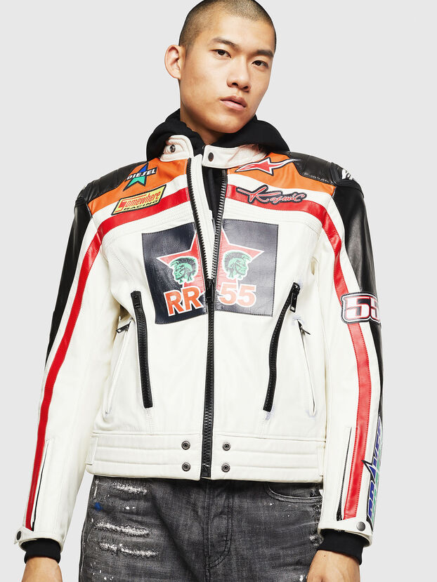 ASTARS-LPATCH-1A,  - Leather jackets