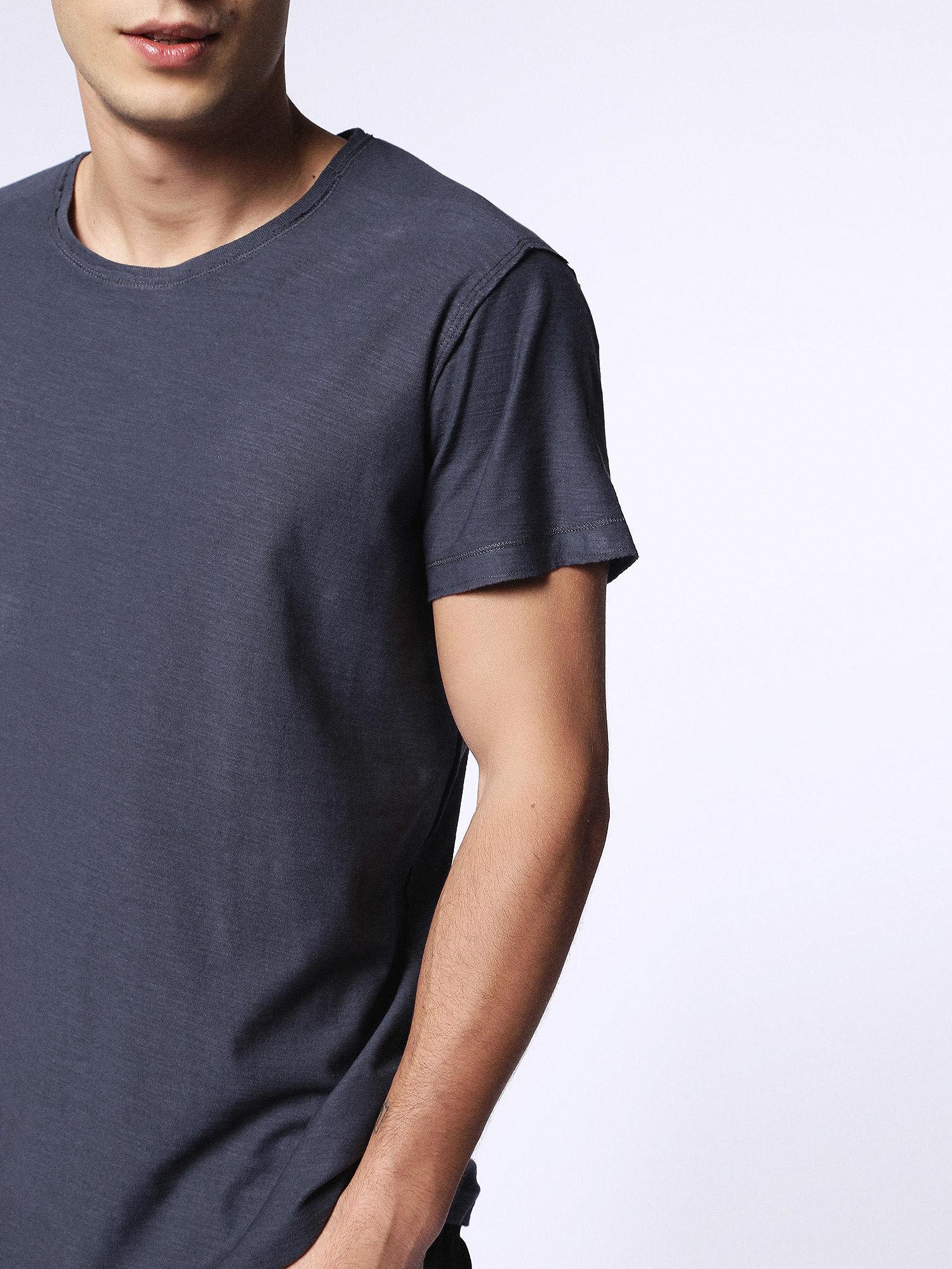 00SRFL00KDY T-Shirts Man T-KNAK by Diesel Blue