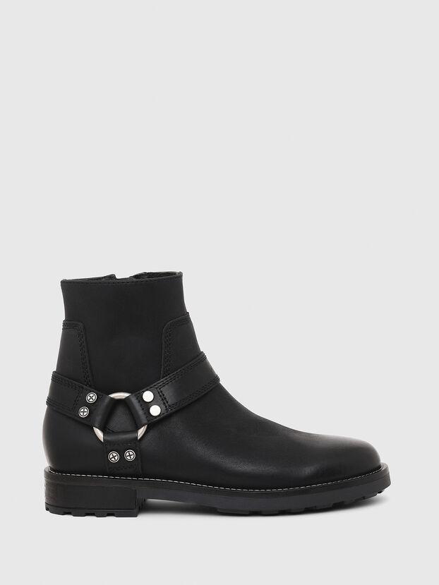 D-THROUPER AB, Black - Boots