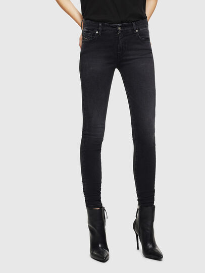 Diesel - Slandy 069JW, Black/Dark grey - Jeans - Image 1