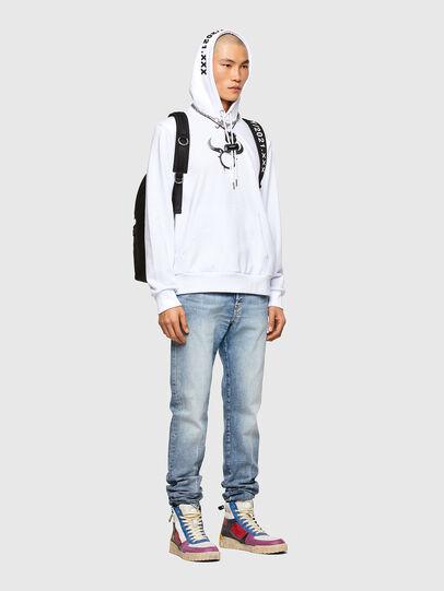Diesel - CL-S-GIRK-HOOD-O, White - Sweaters - Image 5