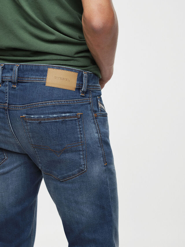 Diesel - Sleenker 084YK, Medium blue - Jeans - Image 3