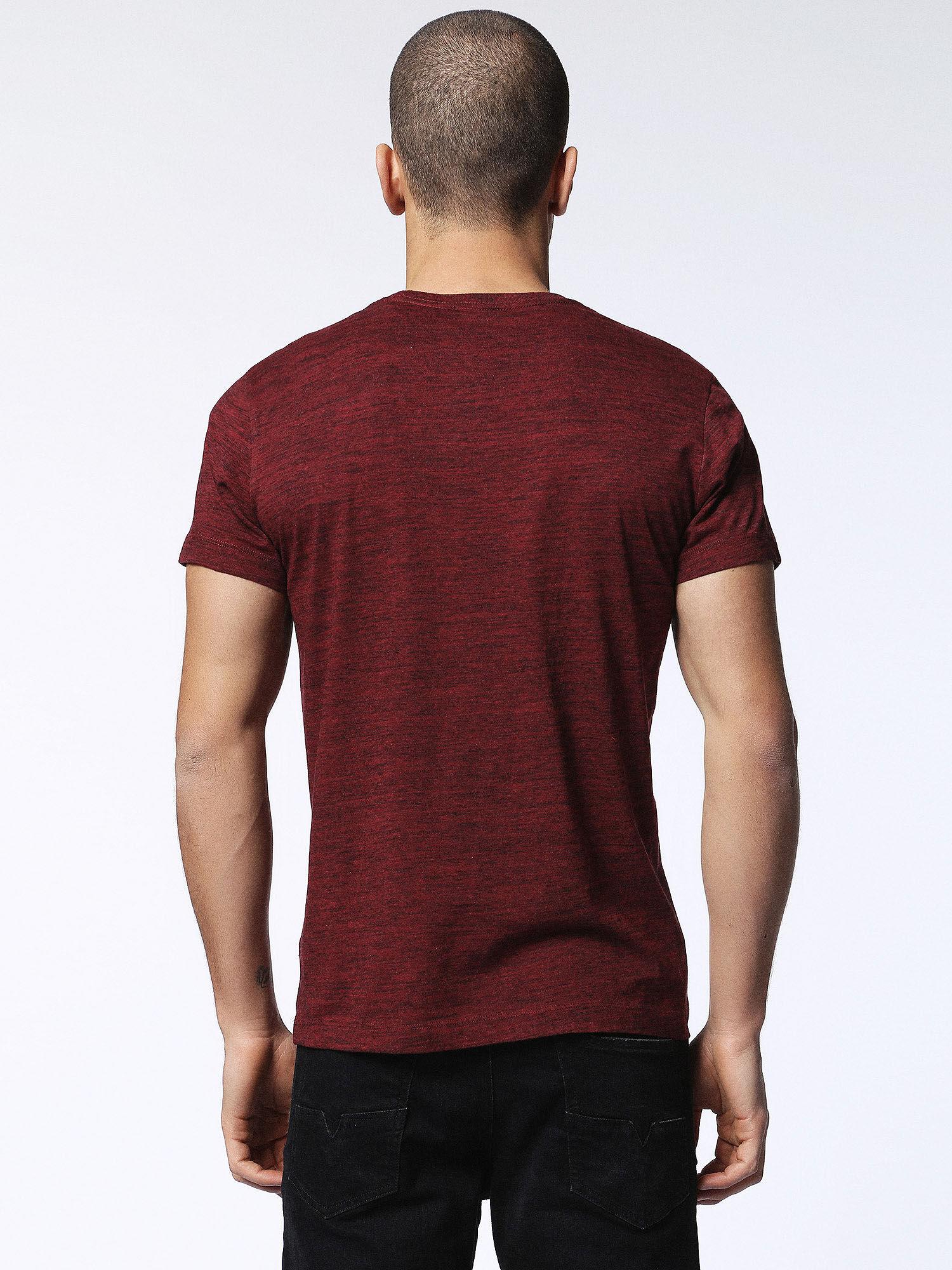 00SN1L0GAOB T-Shirts Man T-SIRIO by Diesel Burgundy