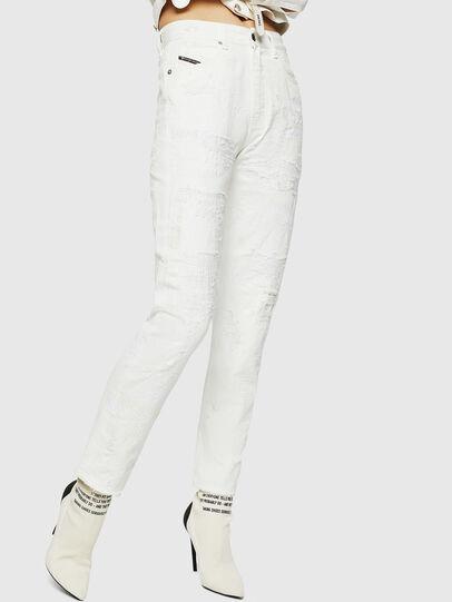 Diesel - D-Eiselle 069IJ, White - Jeans - Image 1