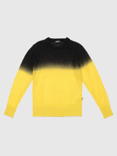 Diesel - KTREAT, Yellow - Knitwear - Image 1