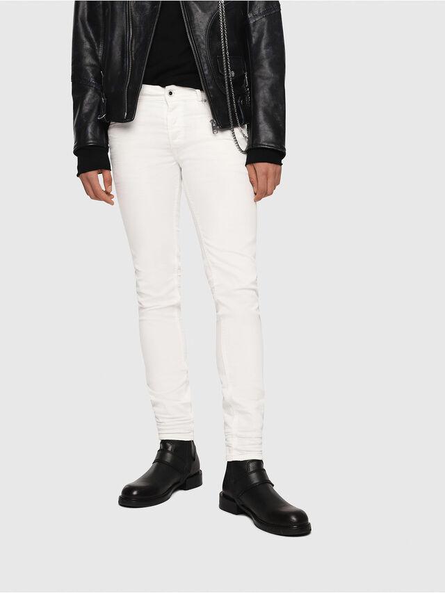 e93983f0 Diesel - Sleenker 084CY, White - Jeans - Image 1