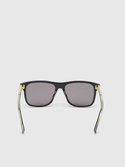 Diesel - DL0279, Black/Yellow - Sunglasses - Image 4