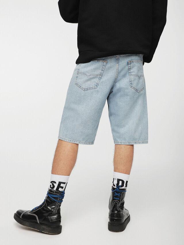 Diesel KEESHORT, Light Blue - Shorts - Image 2