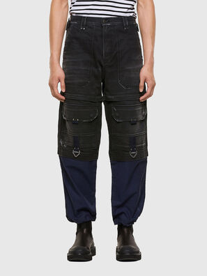 D-MULTY-SP, Black/Blue - Jeans