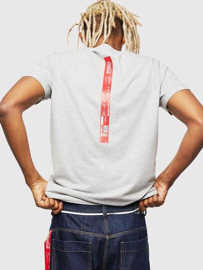 Diesel - CC-T-DIEGO-COLA, Grey - T-Shirts - Image 3