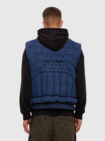 Diesel - D-WAIN, Medium blue - Denim Jackets - Image 2