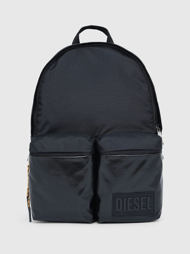 Backpack in ripstop with coated pockets