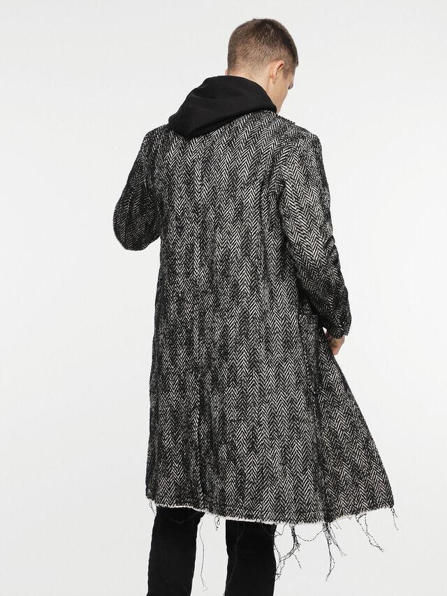 Diesel - W-DEXT, Black Melange - Winter Jackets - Image 2