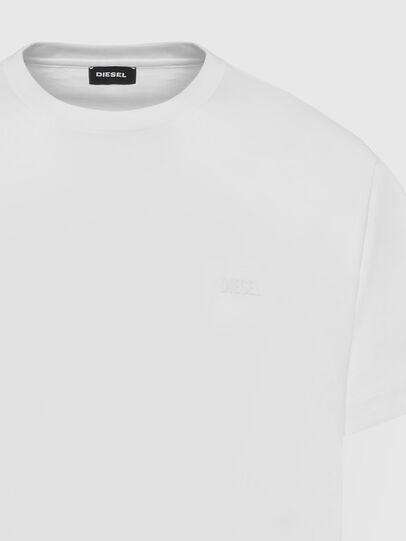 Diesel - T-TARRIS-NEW2, White - T-Shirts - Image 3
