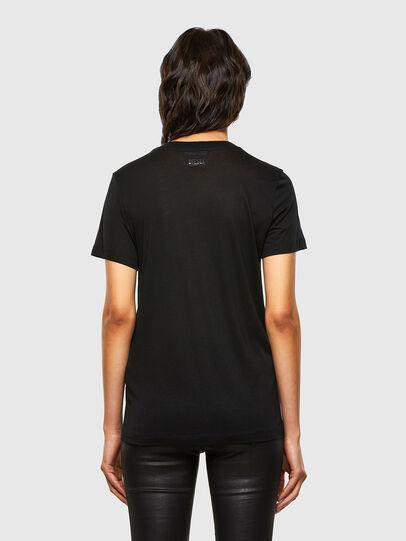 Diesel - T-SILY-V26, Black - T-Shirts - Image 2