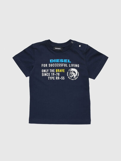 Diesel - TDIEGOXB, Dark Blue - T-shirts and Tops - Image 1