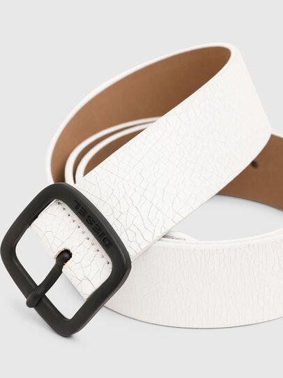 Diesel - B-CRASEL, White - Belts - Image 2