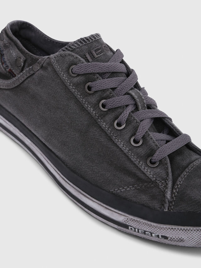 Diesel EXPOSURE LOW I, Metal Grey - Sneakers - Image 5