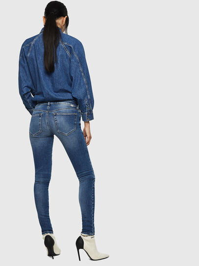 Diesel - Slandy Low 083AN, Medium blue - Jeans - Image 2