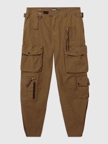 Cargo pants in canvas fabrics