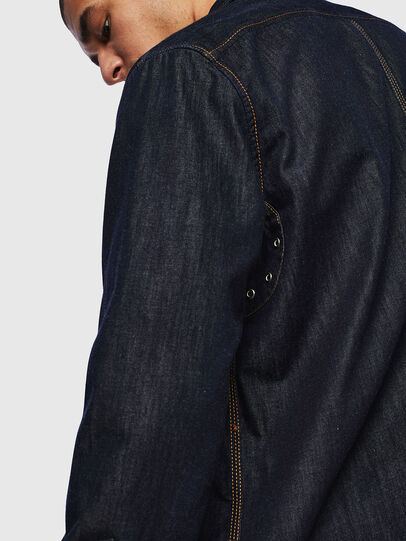 Diesel - D-MILLY, Dark Blue - Denim Shirts - Image 6