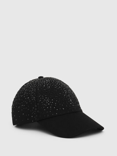 Diesel - CIWAS-SW, Black - Caps, Hats and Gloves - Image 1