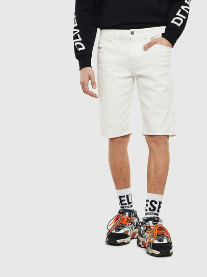 Diesel - THOSHORT, White - Shorts - Image 1