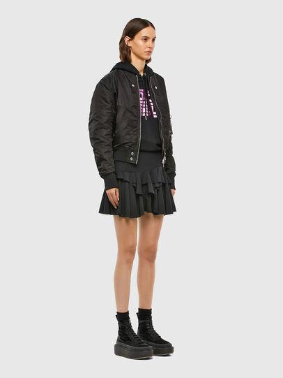 Diesel - O-KOEPY, Black - Skirts - Image 4