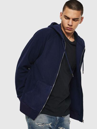 Diesel - S-ERGEY, Blue - Sweaters - Image 4