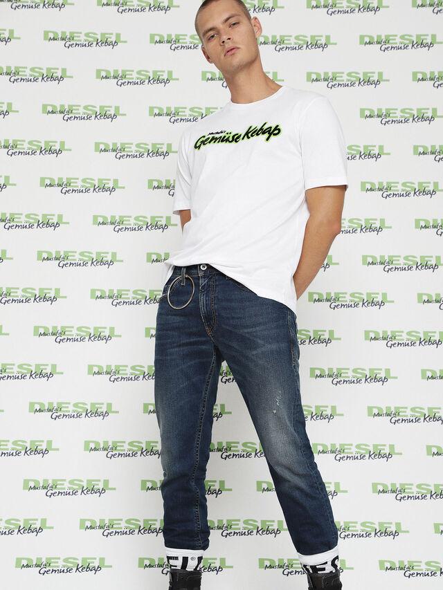 Diesel MU-T-BALD, White - T-Shirts - Image 4