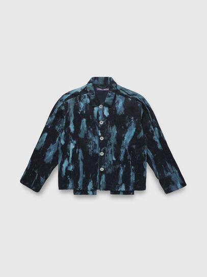 Diesel - PR-JK01, Dark Blue - Denim Jackets - Image 1