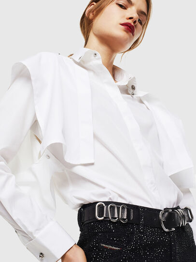 Diesel - C-RAILY-SHAPED, White - Shirts - Image 3