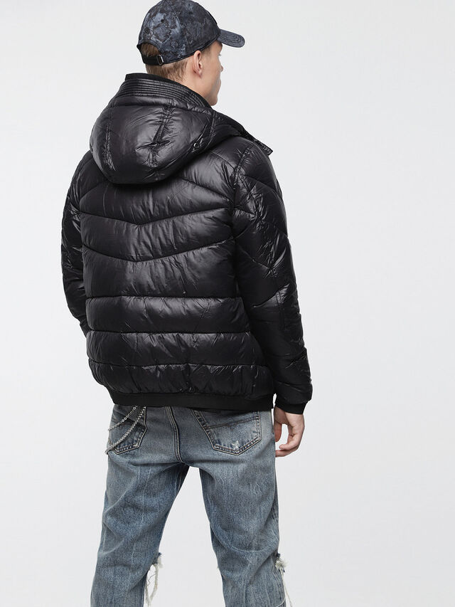 Diesel - W-GARRETT, Black - Winter Jackets - Image 2