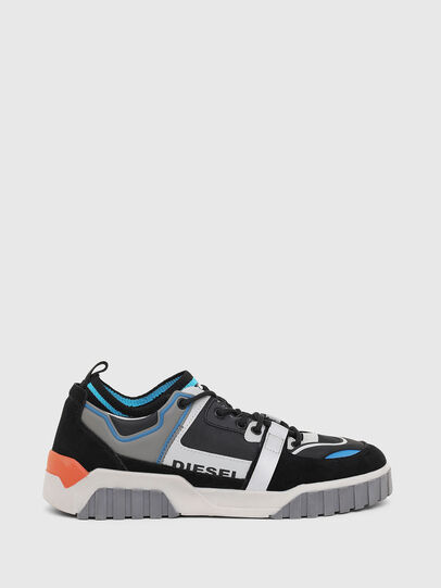 Diesel - S-RUA SL LOW, Black - Sneakers - Image 1