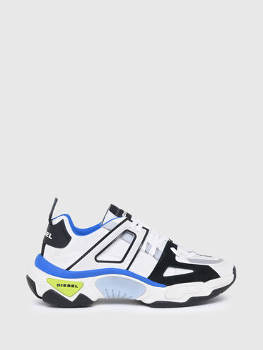 Multilayer sneakers in mix materials