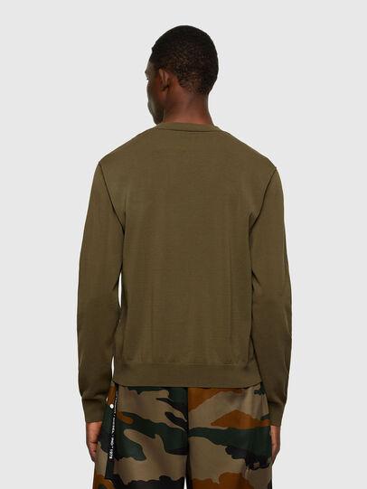 Diesel - K-NAVAJO, Military Green - Knitwear - Image 2