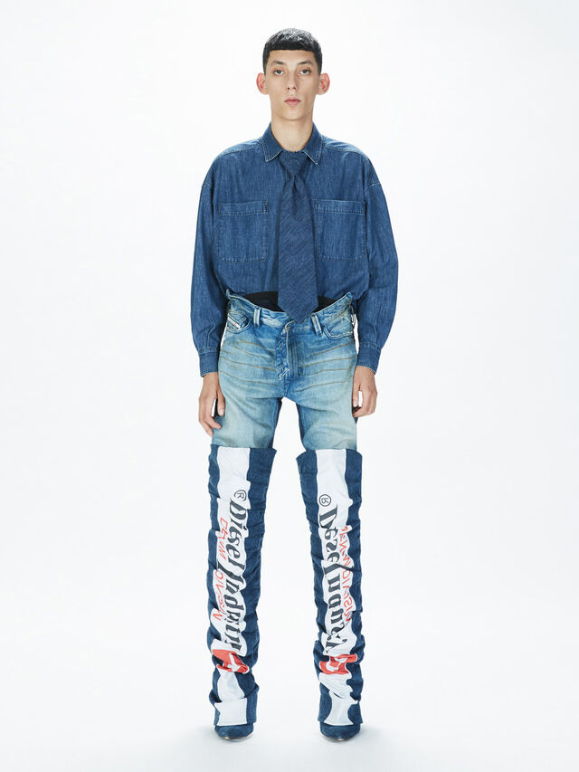Diesel - SOPKN01, Blue Jeans - Jeans - Image 8