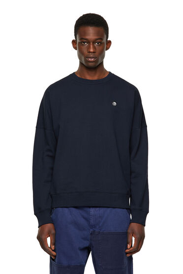 Green Label sweatshirt with Mohawk patch